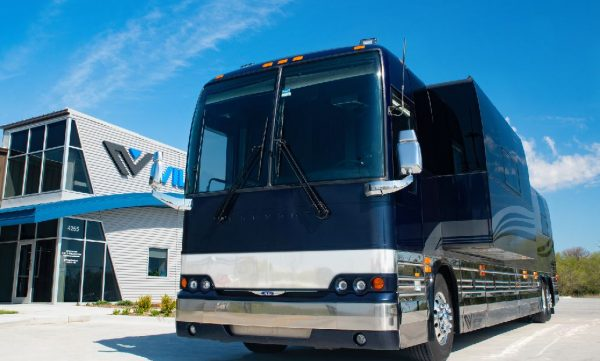 Galaxy 12 bunk coach for comedians and musicians