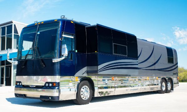 Galaxy Village Coach Wichita Kansas entertainer coach leasing