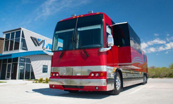 Brookland 12 bunk entertainer coach Village Travel