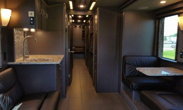Aeron entertainer coach kitchen