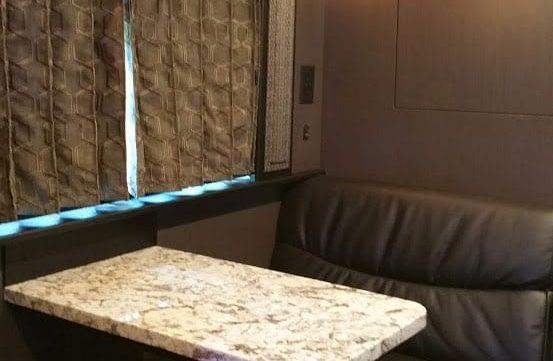 Aeron entertainer coach lounge