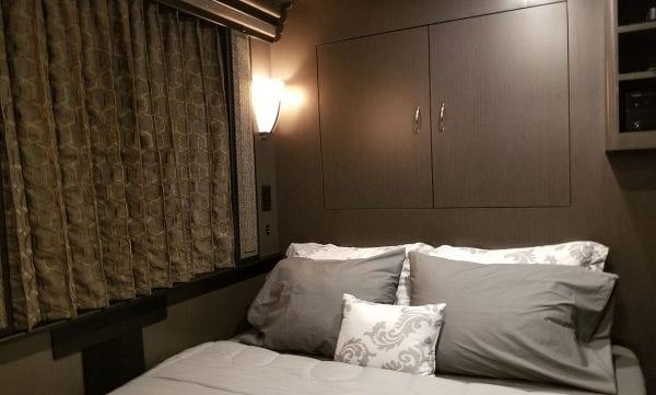 Aeron entertainer coach bed