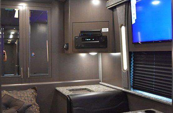 Brookland entertainer coach bedroom