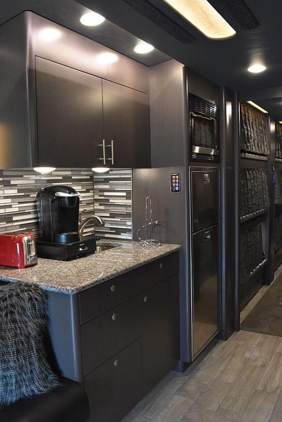 Brookland entertainer coach kitchen