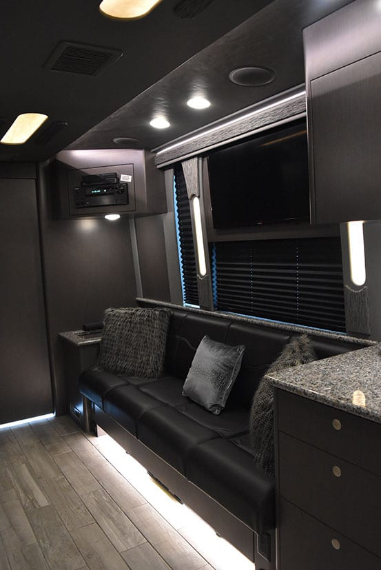 Brookland entertainer coach lounge