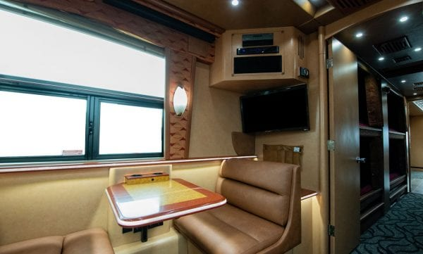Calypso entertainer coach rental