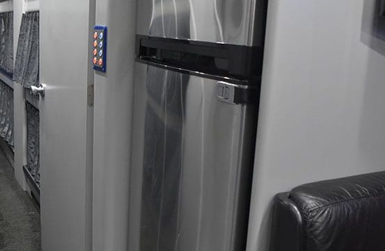 Hoot entertainer coach fridge