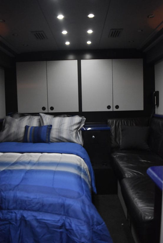 Hoot entertainer coach bed