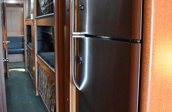 Maya entertainer coach fridge