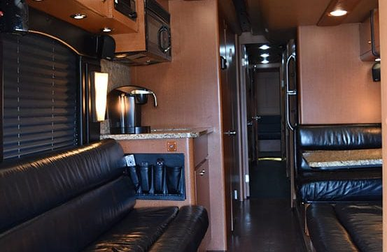 Maya entertainer coach front lounge