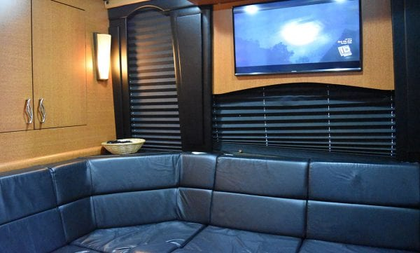 Maya entertainer coach rear lounge