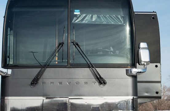 Maya entertainer tour bus
