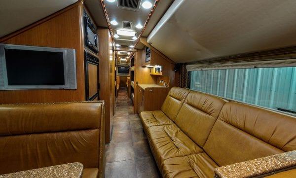 Super coach interior