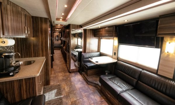 Wisdom tour bus leasing