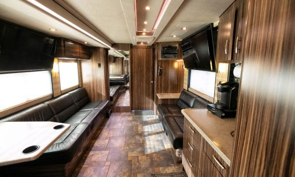 Wisdom tour bus rental