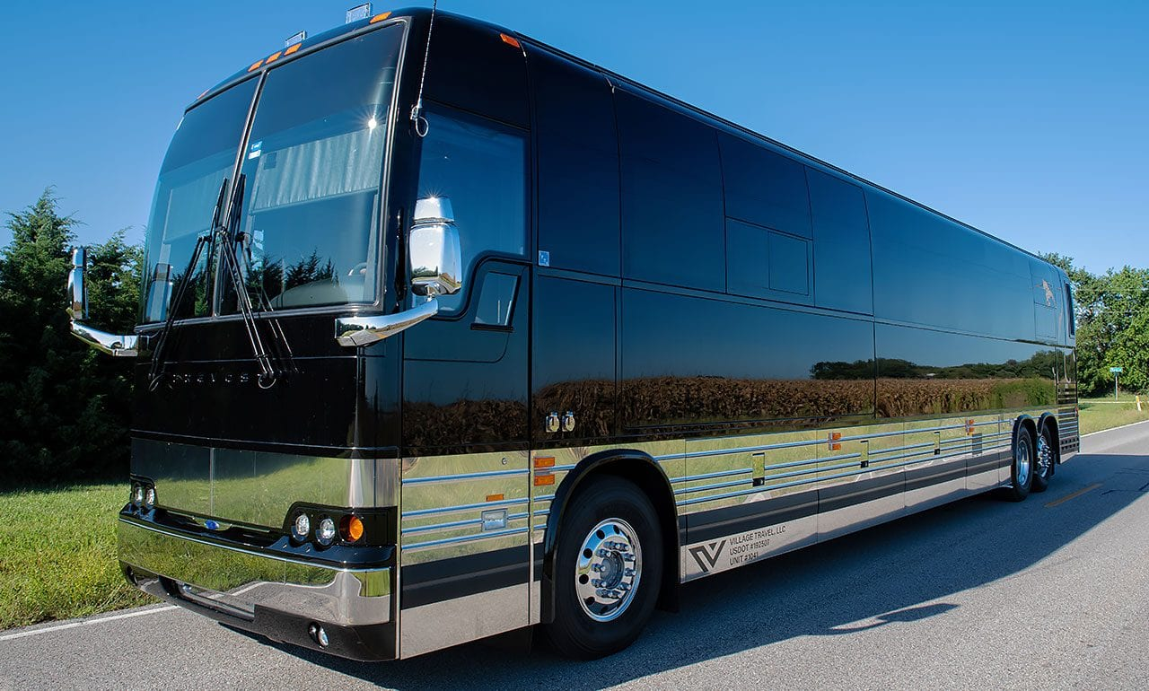 Shocker entertainer tour bus