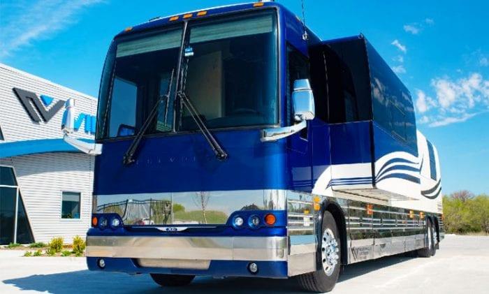 Tour bus rental company