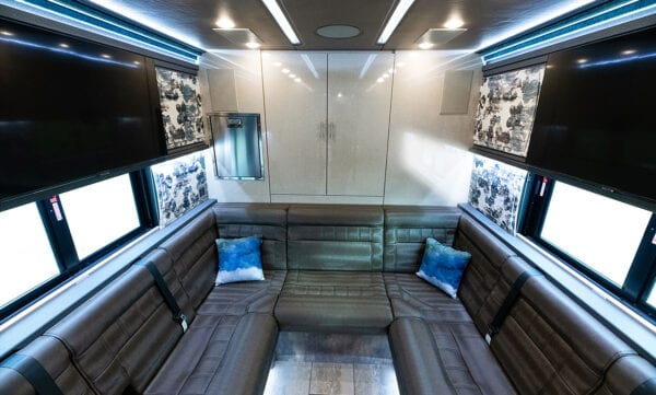 Tin Man entertainer coach lounge