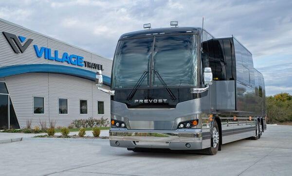 Tin Man tour bus